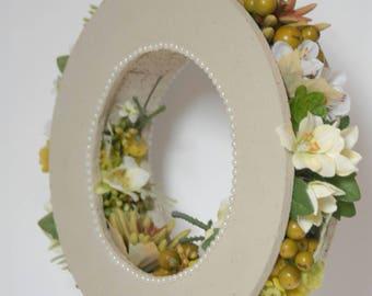 Artificial bouquet, bridal bouquet, wedding bouquet, original bouquet, white flowers, wedding flowers