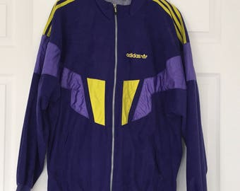 RARE Vintage Adidas activewear jacket 80s 90s