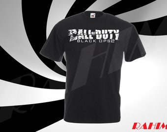 Call of Duty Black ops 2, gamer, Adult T-shirt