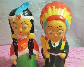 Indian salt and pepper shakers