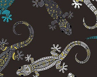Cool Reptiles Weighted Blanket