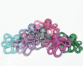 Design Your Own Hand Painted Octopus Pendant