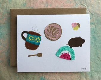 Mexican Hot Chocolate and Sweet Breads Card 2017