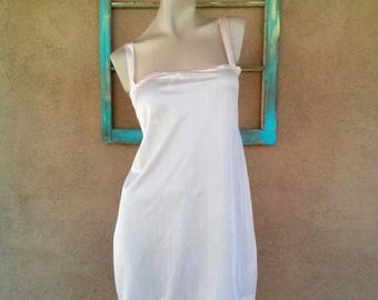 ON SALE Vintage 1930s Camisole Slip Peach Silk Cami Mayfair B42