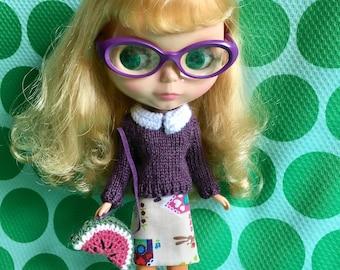 Blythe Doll Colour Me Fruity Set -Purple