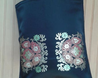 Vintage Japanese Kimono Obi Tote Bag