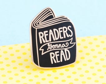 Book Pin, Book Enamel Pin, Pin Game, Bookish Pin, Literary Pin, Literary Gifts, Lapel Pin, Books, Book Pin, Reader