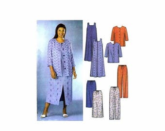 SALE Womens Dress Jumper Jacket Pants Skirt Simplicity 7102 Sewing Pattern Full Figure Size 18 - 20 - 22 - 24 Bust 40 - 42 - 44 - 46 UNcut