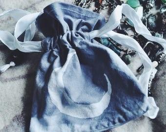 drawstring bag // night treasures