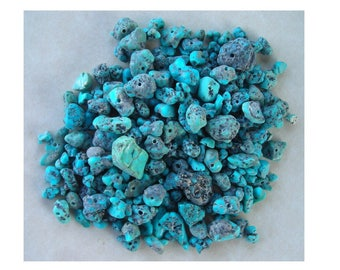 Bag of Natural Turquoise Beads