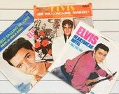 ELVIS PRESLEY Collectors Series Limited Edition 45 RPM Records Album Vinyl Music