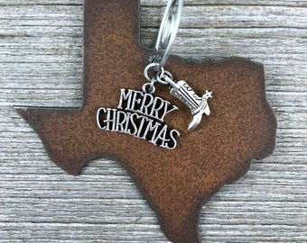 TEXAS Christmas Ornament MEDIUM, Texas Ornament, Christmas Gifts 2017 Christmas Ornaments, Personalized Gift, TEXAS Ornaments