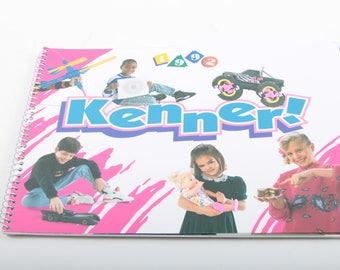 Kenner, 1992 Catalog, Toys, Descriptions, Product Listings, Commercial Catalogue, Vintage, Collectors, Spiral Bound ~ The Pink Room ~ 160917
