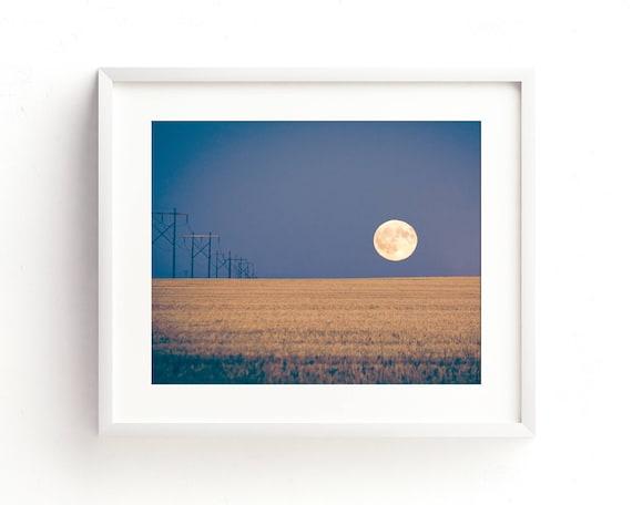 """Harvest Moon"" - landscape photography"