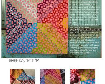 Medusa Modern Quilt Paper Pattern