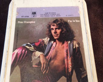 Peter Framton I'm in You -  8 Track Tape Free Shipping
