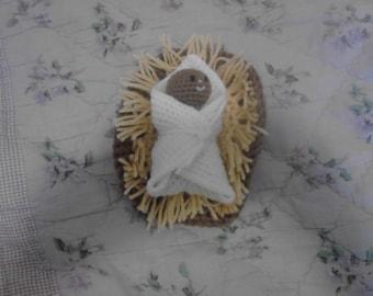 4in baby Jesus Doll 1
