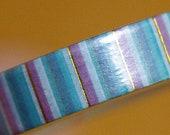 Le Carrousel Stripes Washi Tape - Simply Gilded - NIP