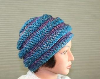 Hand-knit Hat