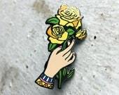 Yellow Rose - Hard Enamel Pin