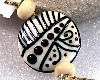 Lampwork  Art Jewelry by Jeanniesbeads #1029