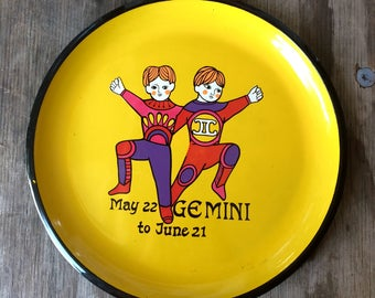 1960s Gemini Tray - Made in Japan