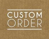 Custom listing for Winnie