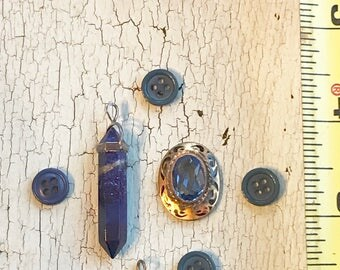 Blue Vintage Jewelry Supply