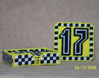 Nascar number 17 coaster set