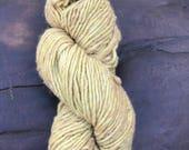 Terra - 1 skein of Chamomile yellow Merino wool Baby Alpaca Silk yarn