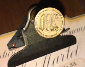 Vintage Wax Seal Stamp