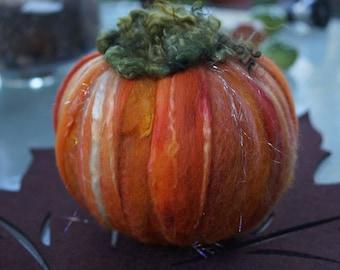 Bright, sparkly October pumpkin