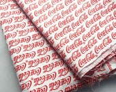 CocaCola Fabric Remnant