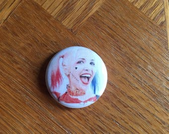 Harley Quinn Suicide Squad 1 inch pin