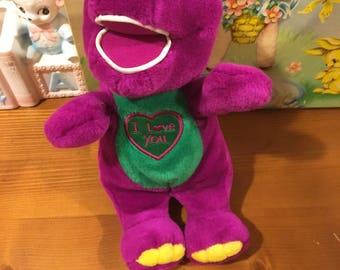 Singing Barney Doll