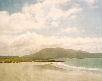Beach Photography, Seascape, Ocean Fine Art Print, Ireland Photo, Beach House Gift
