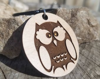 Cute Owl Pendant Necklace