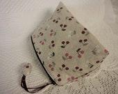 Cosmetic Bag - Cherries  - Zippered Makeup Bag - Waterproof