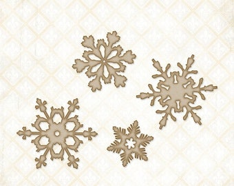 NOW ON SALE Blue Fern Studios Shabby Flakes