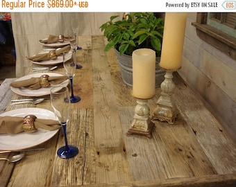 "ON SALE Driftwood Table (72""L x 30""W x 29""H)"