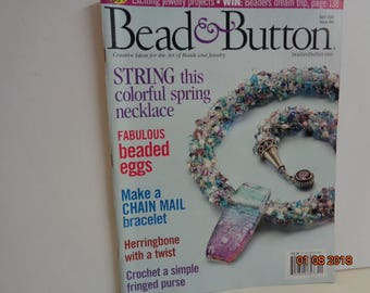 Bead and Button   April  2004