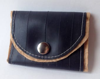 Tan Upcycled Wallet