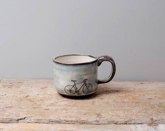 Red Bike Espresso Cup