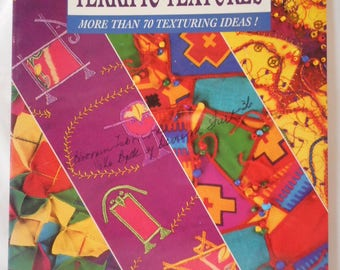 Terrific Textures sewing book-   clearance
