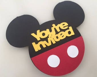 15 Mickey Mouse Clubhouse Invitations