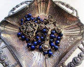 RESERVED - St. Therese Lapis Lazuli Rosary