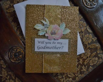 Godmother Question Card with Poem