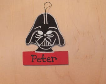 Darth Vader Christmas Ornament - Personalized