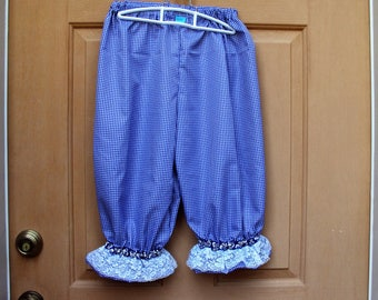 Pantaloons, saloon girls, courtesan knickers, Victorian knickers, pirates knickers, Halloween costume
