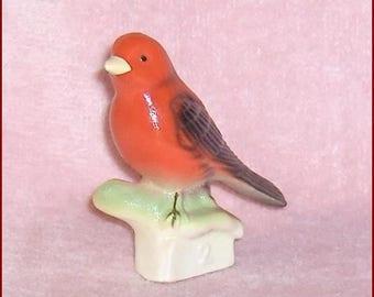 Scarlet Tanager  Canadian Tender Leaf Tea  Premium Tenderleaf  Bird Number 2